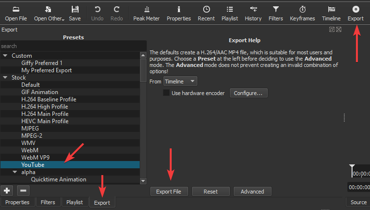 How do I convert my video to Mp4? - Help/How To - Shotcut Forum