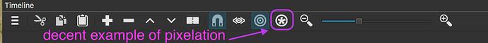 shotcut-timeline-icons-macos-jaged-slash-pixelated-edges