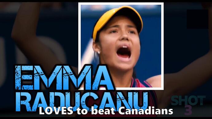 Emma Raducanu FRAME (photo) Loves to beat Canadians 02