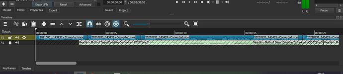 video project error again