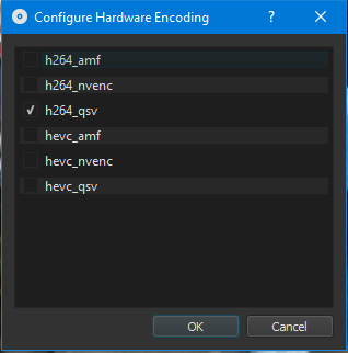 Use Hardware Encoder