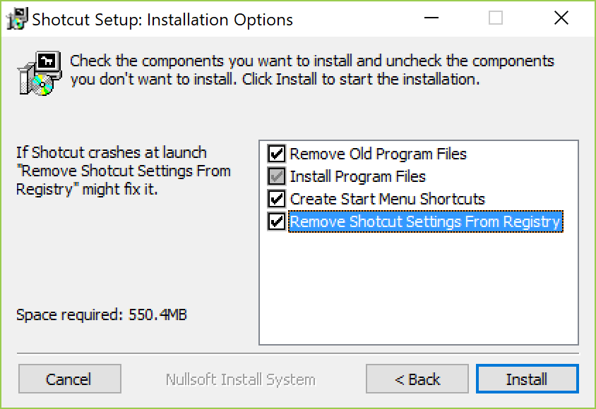 Error Message: Install OpenGL 2 0 or Higher - Help/How To - Shotcut