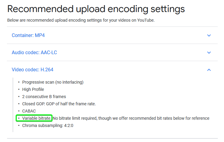 Best quality settings for youtube - Help/How To - Shotcut Forum