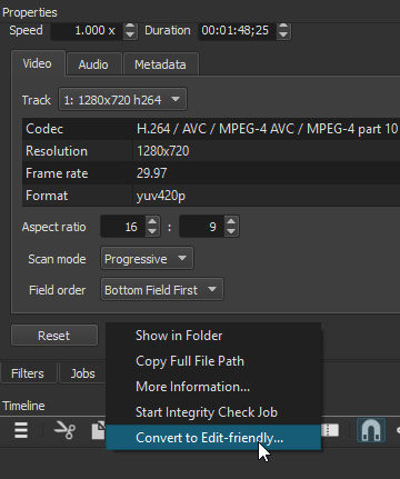 Exported video Jerking periodically - Help/How To - Shotcut