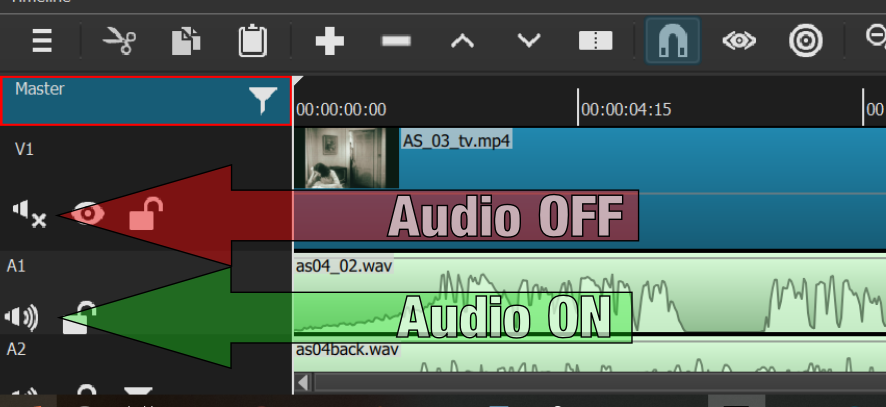 Voice over and audio from video mixed up together - Help/How