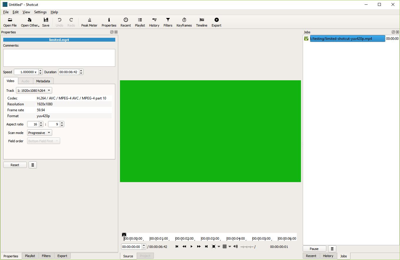 Shotcut Color Accuracy - Help/How To - Shotcut Forum