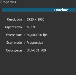 Output properties