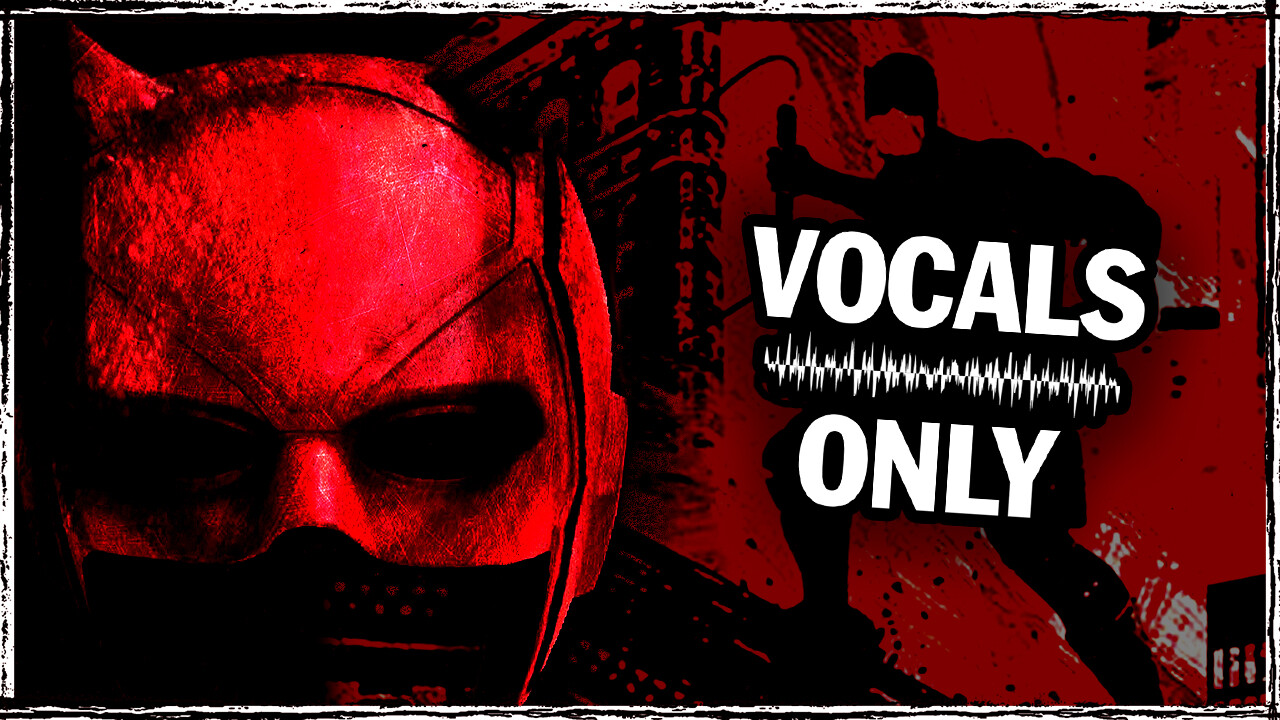 CUSTOM THUMBNAIL - DAREDEVIL (VOCALS ONLY) by AVENUENIGHTS